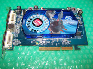 Sapphire Radeon HD3650 AGP 512MB DDR2 Dual DVI Graphics Card