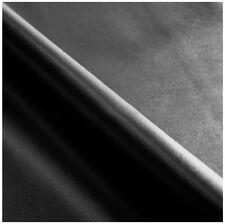 Tessuto ecopelle NERO SU MISURA multipli di 10cm tappezzeria pelle sky metro