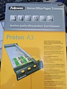 """5410301 Fellowes PROTON A3 ROTARY PAPER TRIMMER - 5410301  """"NEW"""""""