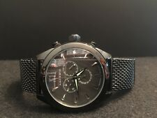 Android Ad664 Men's Black Mesh Chronograph Watch