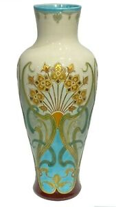 Orchies L'Hermine et Cie Faience Vase (21 in, 53 cm)