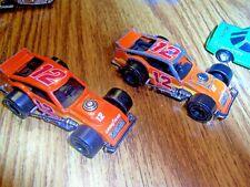 Vintage Matchbox Diecast Cars Lot Of 2. Modified Racer 1987 Orange No. 12