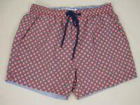 The Rocks Push Mens Balmoral Board Shorts Swimwear sizes 36 38 Grey Pink Spots