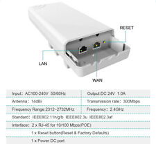 300Mbps 5.8ghz WIFI CPE Wireless Repeater Long distance Bridge Booster Amplifier