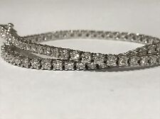 men's women's bracelet TENNIS gold made carats natural diamonds 2,80 ct BARGAIN