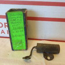 Auburn;  Willys;  Lafayette;  Studebaker, Hupmobile condenser.   Item:  8751