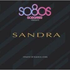 """SANDRA """"SO80S PRESENTS SANDRA"""" 2 CD NEUF"""