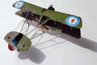 1:33 Scale WWI Airco DH.2 British Single-seat Biplane Aircraft Paper Model Kit