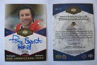 2004-05 UD Legendary Signatures Tony Esposito 46/88 HOF induction incks auto