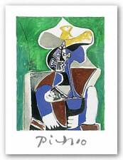 Blue Green and Brown Pablo Picasso Art Print 29x21