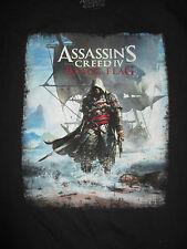 Video Game ASSASSIN'S - CREED IV BLACK FLAG (XL) T-Shirt