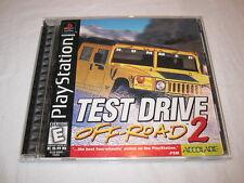 Test Drive Off-Road 2 (PlayStation PS1) Black Label Game Complete Excellent!