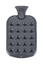 Fashy Waben-Wärmflasche, 1,2 Liter, anthrazit