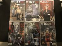 True Blood IDW 1-6 Complete Set-Regular and Variant Covers