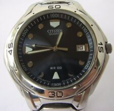 Citizen 2510 Date Watch with Original Stainless Steel Bracelet
