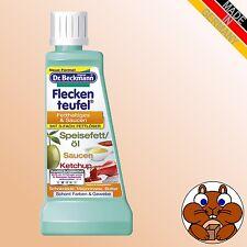 Dr. Beckmann Fleckenteufel Fetthaltiges & Saucen 50ml Speisefett / Öl