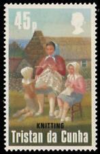 """TRISTAN da CUNHA 363 (SG380) - Wool Industry """"Knitting"""" (pa94018)"""
