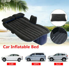 Inflatable Car Air Bed Mattress Back Rear Seat Rest W/ 2 Pillows Travel