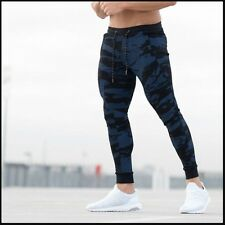 Bodybuilding Men's ECHT Logo Athletic Casual Jogger Slim Fit Skinny Sweatpants
