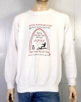 vtg 80s 90s retro 1991 Alton Water Ski Club Sweatshirt Raglan Sleeve XL