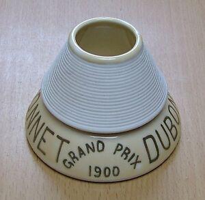 """Rare  ancien pyrogene publicitaire Dubonnet grand prix 1900 couleur """" vert """""""