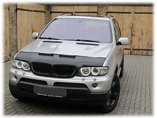 CAR HOOD BRA fit BMW X5 E53 1994-2006  NOSE FRONT END MASK TUNING STYLING