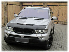 CAR HOOD BRA fits BMW X5 E53 1994-2006  NOSE FRONT END MASK TUNING STYLING