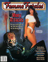 Femme Fatales Magazine Vol. 4 # 6 Mars Attacks  1996