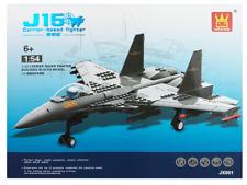 J15 Flying Shark Carrier Based Fighter Jet Plane Building Blocks Bricks- Wange