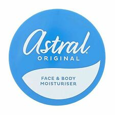 Astral Original Face and Body Moisturiser Cream 3x50ml