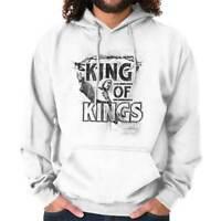 King Of Kings Jesus Christian Religious Gift Hoodies Sweat Shirts Sweatshirts