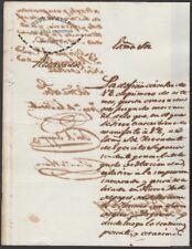 E4722 ANTILLES ESPAÑA SPAIN. 1842. SOBRE FALSIFICACION DE PAPEL SELLADO Y GIROS.