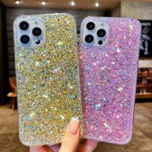 Glitter Diamond Case For Samsung S20 S21 A31 A52 A70 A21S Shockproof Soft Cover