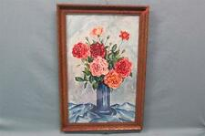 Antique Watercolor Painting Signed & Dated Theresa Rabold 1919