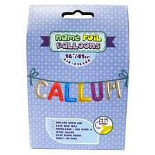 Royal County Products Name Foil Balloons - Callum - New