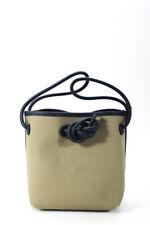 Bono de doble correa de lona para mujer Vasic Mini Bolso para el Hombro tamaño de color caqui Tamaño Uno