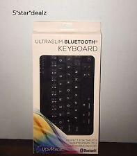 I/O Magic UltraSlim Bluetooth Keyboard Black NEW
