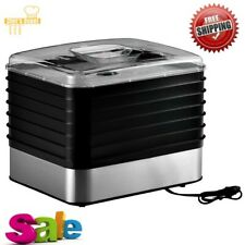 6 Tray Food Dehydrator Weston Digital Plus Free Shipping New