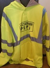 Pepsi Hoodie Hi Visibility Men's 2XL Heavy Duty Double Thick NEW