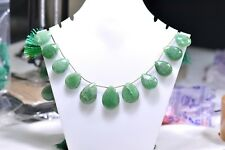 Natural Wholesale - 8 '' Green Aventurine Faceted Pear 1 Strand EB00345