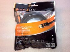 Alphaline 6' Premium HDMI Cable 4K 3D Ready 13.8Gbps Brand New Sealed