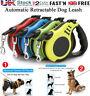 Adjustable Solutions Retractable Dog Lead Extending Leash Tape 3m 5m Long Max le