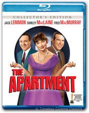 The Apartment Blu-ray Disc New Jack Lemmon, Fred MacMurray, Shirley Maclaine