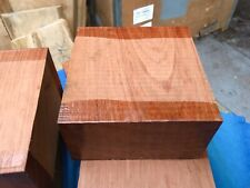 Bubinga Bowl Blank/woodturning/exotic Woods 145x145x75mm Exotic Hardwoods