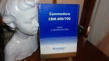 Programmer's  REFERENCE GUIDE C64 - Commodore cbm 600/700 guida al programmatore