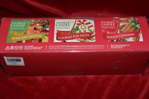 Simply Home Yankee Candle Christmas Votive Set 3 different Candles