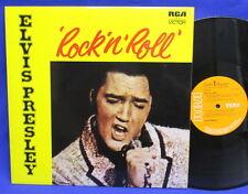 LP ELVIS PRESLEY - ROCK'N'ROLL // UK ENGLAND ORANGE RCA SF 8233