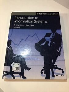 Introduction to Information Systems 7th Edition Textbook Seventh Hardcover Book