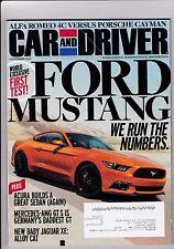 Car And Driver Magazine November 2014 Nov See My Store