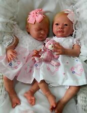 Laura Lee Eagles Reborn TWINS LIBERTY & HARMONY  Lifelike Realistic Reborn Dolls